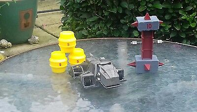 """Original Bbc Robot Wars """"growler Pullback Robot """" As Issued,complete,good"""