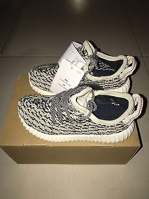 Original White Infant Yeezy Boost 350 - Size 8.5 UK