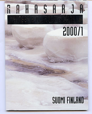 Finland 2000 Official Coin Mint Set KMS UNC High Condition !!!