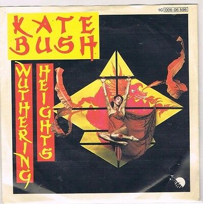 """7"""" - Kate BUSH - WUTHERING HEIGHTS - german  PS"""