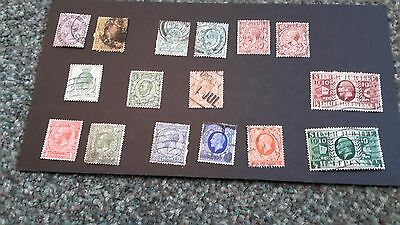 Queen  Victoria,  Edward Vii, George V Used Collection