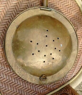 Vintage Brass Bed Warmer, pan only