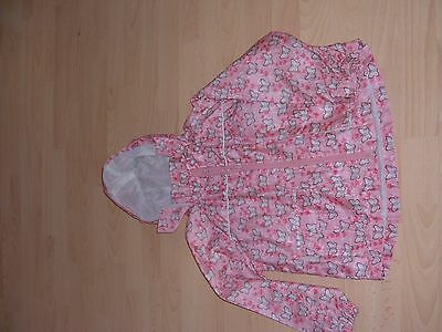 girls waterproof jacket with hood .ladybird age 5-6