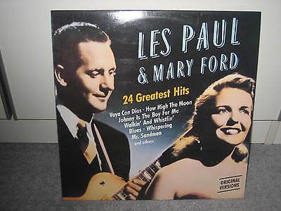 """LP Les Paul & Mary Ford """"24 Greatest Hits"""" (Companion Records), Pop der 50er!"""