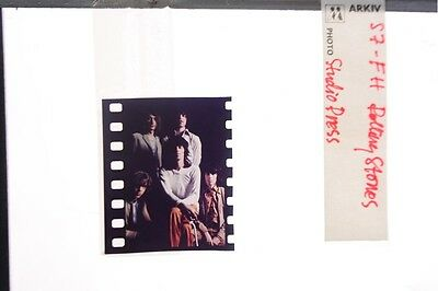 """Slide of The member of the band """"The Rolling Stones""""."""