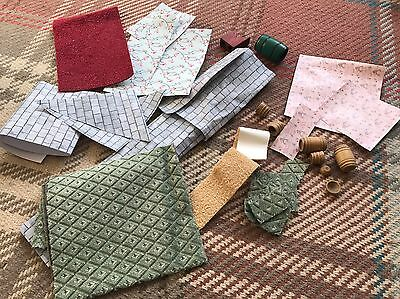 Dolls House Accessories Roof carpet Wallpaper & More