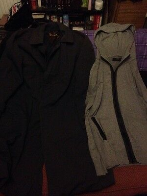 Mens Clothes -Size Large -2 Items - Next Hoody & Waverley Long WeatherCoat