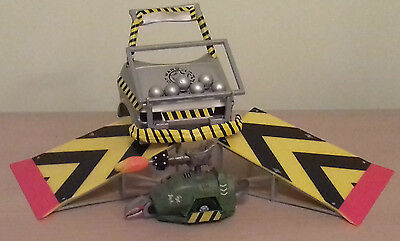 """Original Bbc Robot Wars """" Sgt Bash,all Working """" Includes Extras Making Playset"""