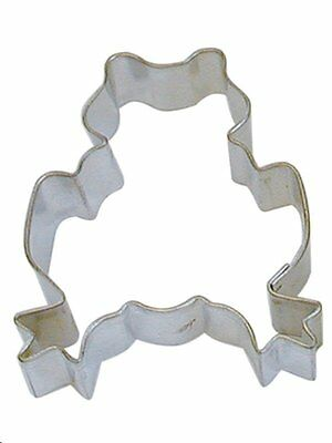 "Frog Cookie Cutter  3"" Water Lillypad Warts Prince Charming Jump Fondant Animal"