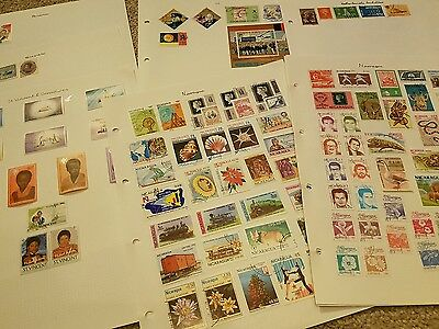 Central American Stamps