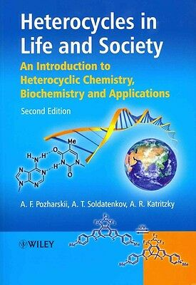 Heterocycles in Life and Society by Alan R. Katritzky Paperback Book (English)