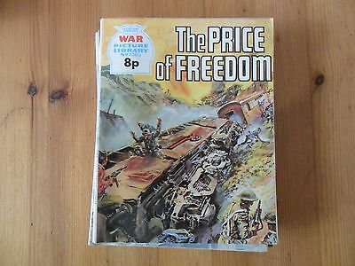 WAR PICTURE LIBRARY,NO.1080 WAR COMIC, The Price of Freedom