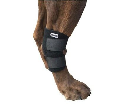 Knee Brace For Dogs Canine Rear Leg Hock Joint Wrap Dog Compression Straps Large