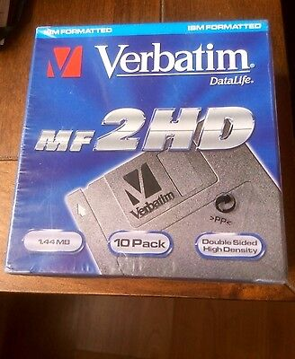 Verbatim Data Life Floppy Disc 10 Pack