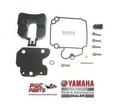 NIB YAMAHA 4 Stroke 30-40HP Carburetor Kit 67C-W0093-00-00 Float 65W