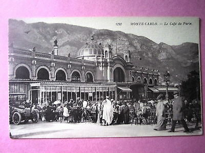 Monte Carlo, Le Cafe De Paris. Unposted.