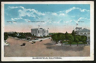 Bakersfield, California. Posted 1922.