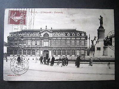 France. Lille, The University. Posted 1925.