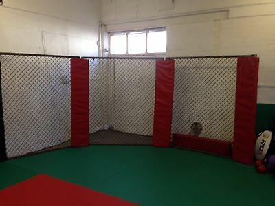 MMA Cage Wall With Padding, Boxing Judo BJJ