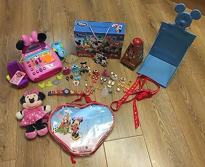 Disney Store Minnie Mouse And Mickey Mouse Toy Bundle / Job Lot
