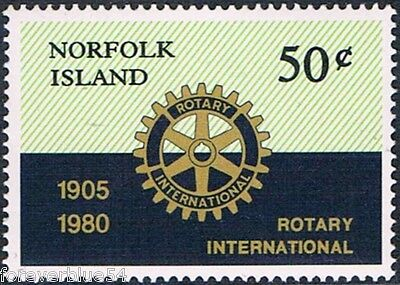 Norfolk Island 1980 SG 235  Sc 255 MNH Rotary Wheel  combined postage