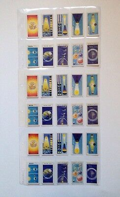 Brooke Bond Out Into Space 3X Full Sets