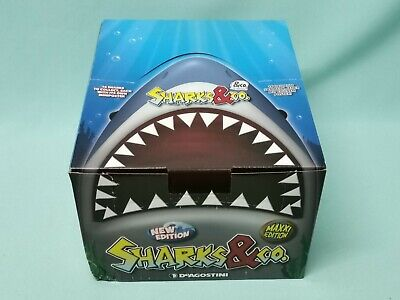 DeAgostini Sharks & Co. Maxxi Edition 1 x Display / 16 Booster Neu & OVP Haie