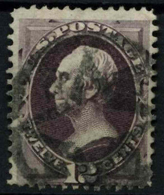 USA 1870-1 SG#153a 12c Henry Clay No Grill Used #D39790