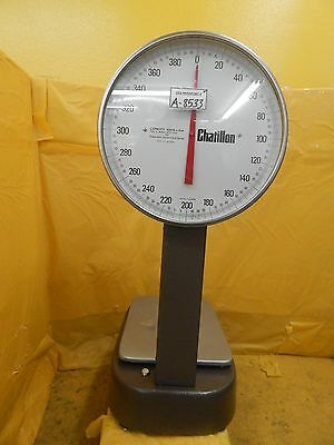 Chatillon BP15-400T III Mechanical Bench Scale Type 15 Used Working