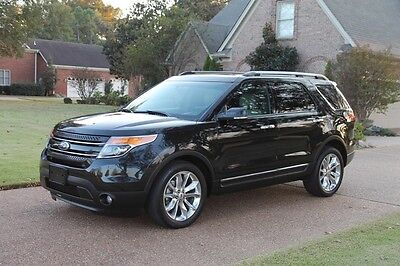2014 Ford Explorer Limited 4WD Perfect Carfax Limited 4WD Navigation Dual Moonroof MSRP New $47180