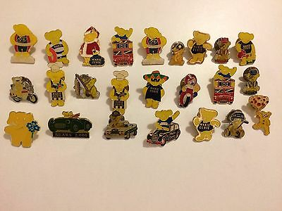 Marie Curie and Children In Need Charity Lot Vintage Rare Pin Badges x24