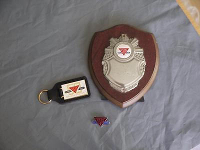 Super Original Alvis Owners Club Collection Badge 50 Year Key Ring Shield