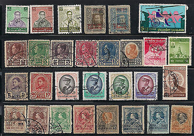 Nice collection of Thailand stamps lot # 2