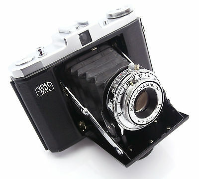 Zeiss Ikon Nettar 518/16 Red Signal Folding Camera with Novar 75mm f4.5 Lens VGC