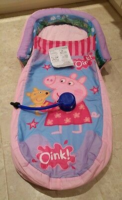 Peppa Pig My First Ready Bed, Inflatable Bed with Quilt, Excellent Condition