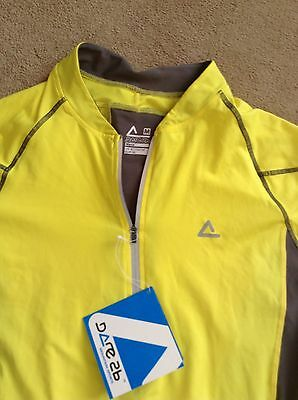 Dare 2B  men's yellow size medium M cycling jersey NEW with tags, polyester