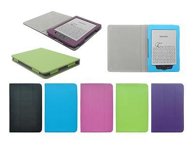 "for Amazon Kindle 6"" 2012 4th Gen PU Leather Folding Folio Skin Cover Case"