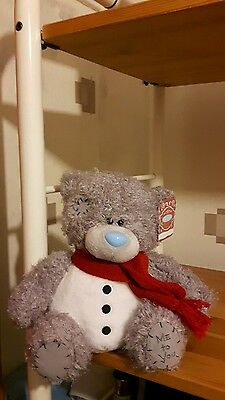 New With Tags Tatty Teddy Bear Xmas Snowman  Me To You