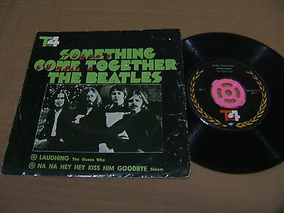 "The Beatles TOP4 IRAN 7"" EP w/ps Something / Come Together RARE Iranian Persian"