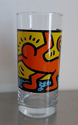 Keith Haring Drinking Glass