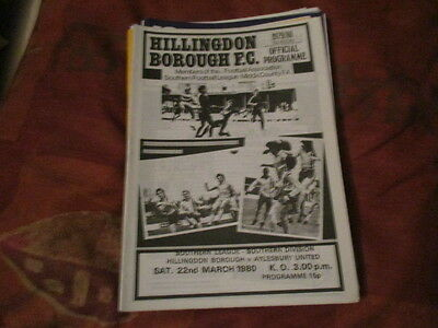 Hillingdon  Borough  V  Aylesbury  Utd  1979-80