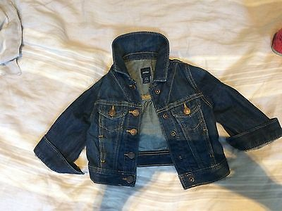 Immaculate GAP Girls Jean Jacket 12-18m
