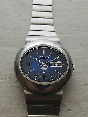 Selling a Used Vintage Stainless Steel Seiko 6119-5411 Oval Wrist Watch