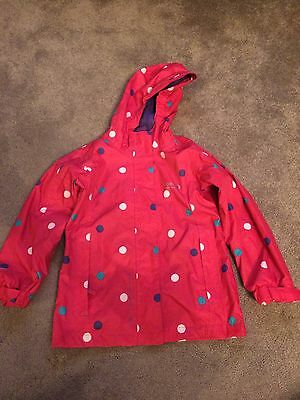 Regatta Girls Raincoat Age 3-4