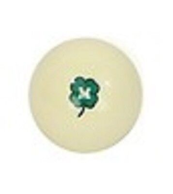 McDermott Green Clover Cue Ball Pool Ball