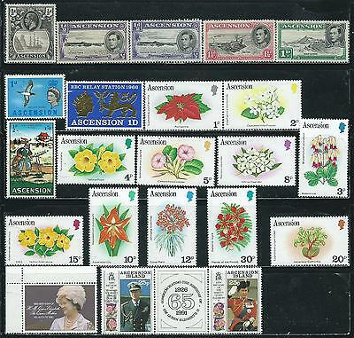 Ascension - 22 stamps mixed - Years 1924 to 1991