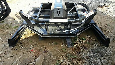"72"" Open Front Brush Cutter Skid Steer Attachment. Blue Diamond Extreme Duty"