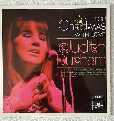 JUDITH DURHAM, FOR CHRISTMAS WITH LOVE (THE SEEKERS) ,VINYL LP Excellent!!!!