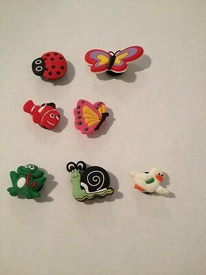 shoe charm set of 7 USA Seller New Without Tags