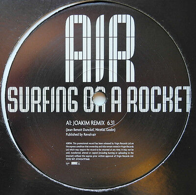 "12"" Uk**air - Surfing On A Rocket (Virgin '04 / Promo)***18214"